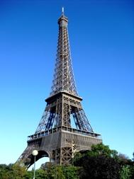 Der Eiffelturm - das Wahrzeichen von Paris